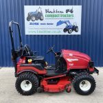 Side View of Shibaura Compact Tractor