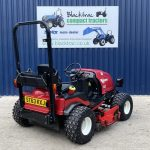 Back View of Shibaura Compact Tractor