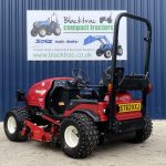 Back Side Profile of Shibaura Compact Tractor