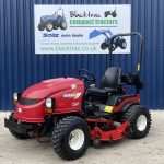 Red Shibaura Compact Tractor