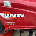 Red Shibaura Compact Tractor Logo