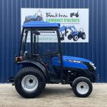 solis 20 compact tractor side view