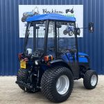 solis compact tractor with full cab