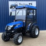 Blue Solis Compact Tractor
