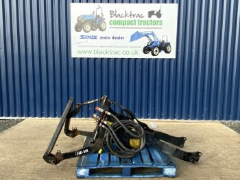 Compact Tractor Attachments - HE VA Linkage in Black