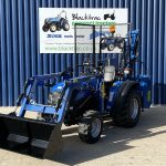 front view of solis tractor