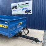 Blue Fleming Heavy Duty 4 Tonne Tipping Trailer