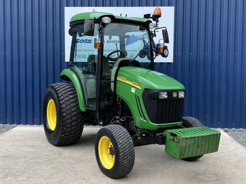 John Deere HST Compact Tractor Front View