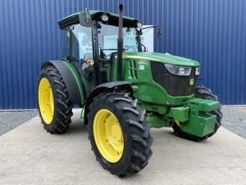 Compact Tractor - John Deere 5080G Compact Tractor Front View
