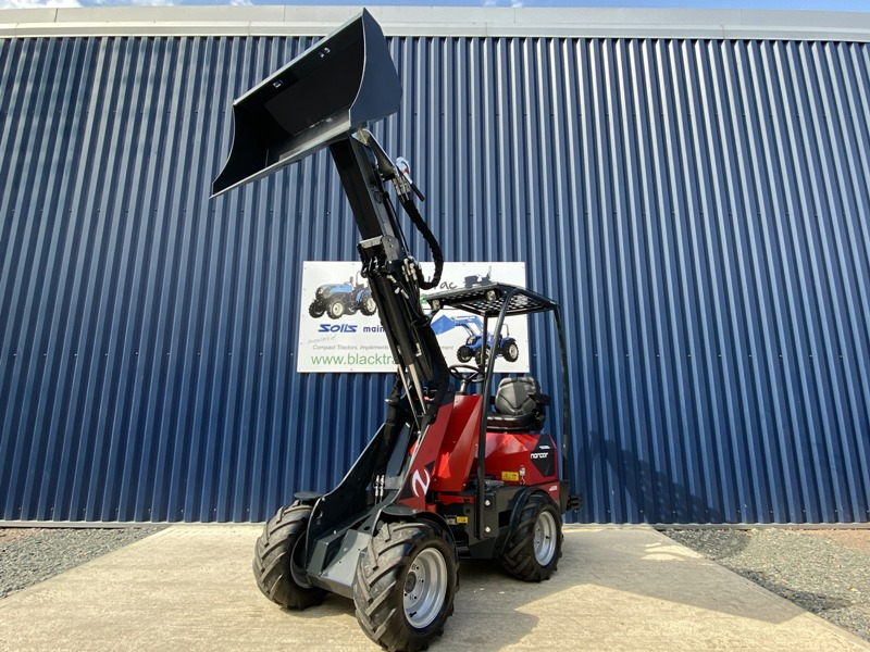Front View Of Ex Demo Norcar Mini Loader