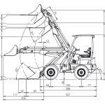 norcar 7240 dimensions