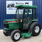 Ransomes HST Compact Tractor Front View