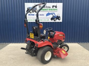 Rear view of Shibaura SX26 Compact Tractor