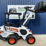Side view of Bobcat L23 Loader with Bucket