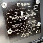 Serial plate of Bobcat L23 Loader