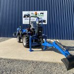 Solis 26M Compact Tractor with Femac Backhoe