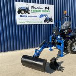Solis 26M Compact Tractor with Femac Backhoe / Mini Digger