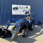 Solis 26M Compact Tractor with Loader & Femac Backhoe