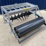 Fleming 5ft Aerator / Slitter with Roller