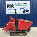 Side view of Hinowa HS1100 High Tip Dumper