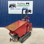 Front view of Hinowa HS1100 High Tip Tracked Dumper