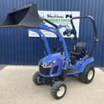 Front view of Iseki TXSG24 HST Compact Tractor
