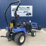 Rear view of Iseki TXSG24 4WD Compact Tractor (Hydrostatic)