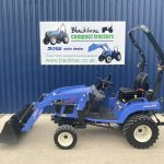 Side view of Iseki TXSG24 Compact Tractor