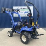 Rear / side view of Iseki TXSG24 HST Compact Tractor