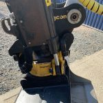 Takeuchi TB240 Mini Digger with Engcon Tilt Rotator Head & Bucket